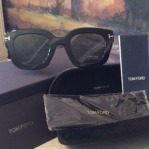 BNWT TOM FORD Pia 49MM Square Sunglasses